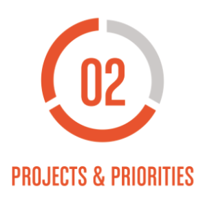 Getting Things Done Level 2 Projects and Priorities Icon